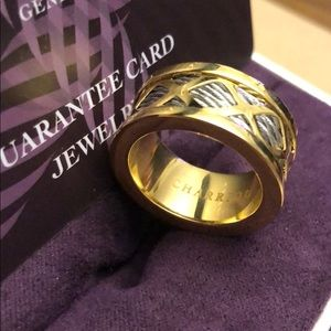 CHARRIOL Ring Gold PVD Silver Forever